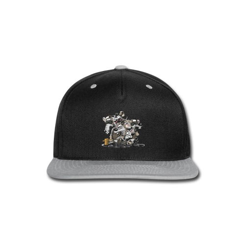 Line Rats - Snap-back Baseball Cap