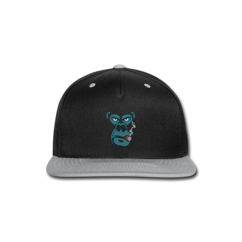 monkey - Snap-back Baseball Cap