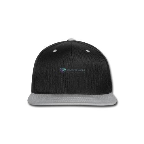 DiscoverCorp Logo Horizontal High 4 1 - Snap-back Baseball Cap