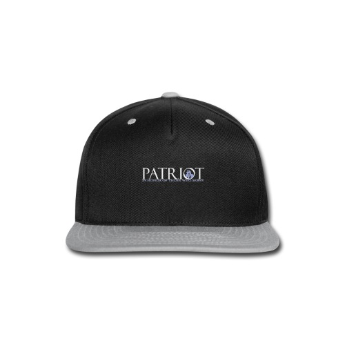PATRIOT-SAM-USA-LOGO-REVERSE - Snap-back Baseball Cap