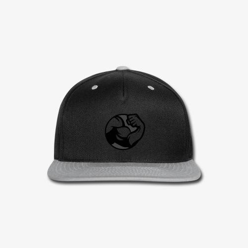 Black and Grey Performance - Snap-back Baseball Cap