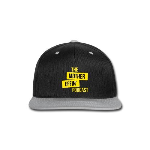 Yellow Logo - Snap-back Baseball Cap