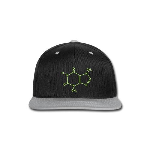 Chocolate (Theobromine) Molecule - Snap-back Baseball Cap
