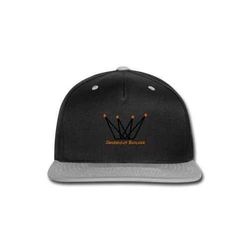 Ingenious Builder crown logo - Snap-back Baseball Cap