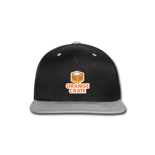 Logo Vertical Clear - Snap-back Baseball Cap