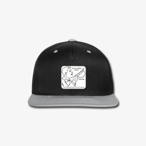 No-Cap - Snap-back Baseball Cap