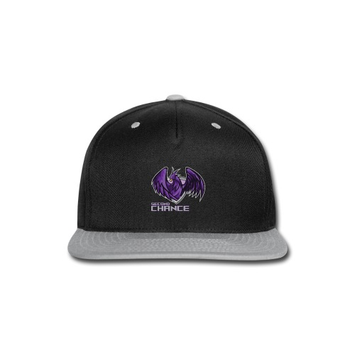 Second Chance Text Only - Snap-back Baseball Cap