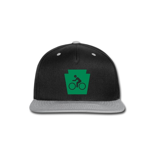 PA Keystone w/Bike (bicycle) - Snap-back Baseball Cap