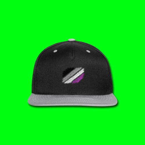 Asexual Flag - Snap-back Baseball Cap
