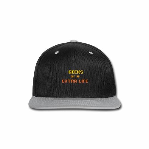 Geek Extra 1 - Snap-back Baseball Cap