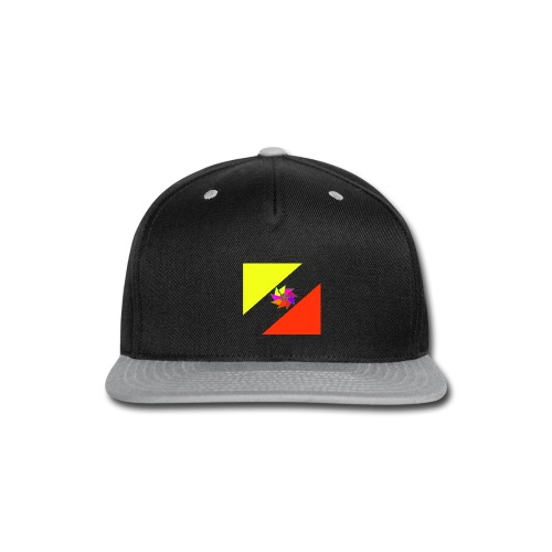 striking logo - Snap-back Baseball Cap