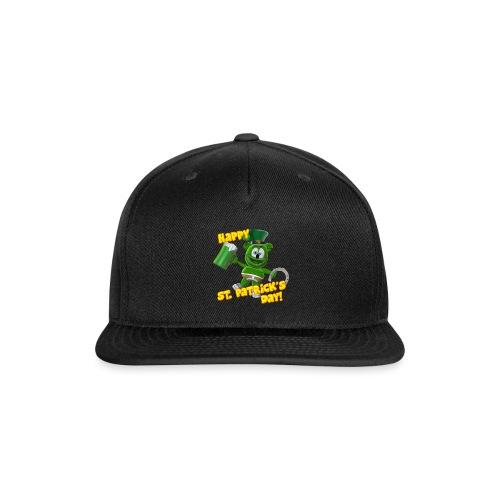 Gummibär (The Gummy Bear) Saint Patrick's Day - Snap-back Baseball Cap