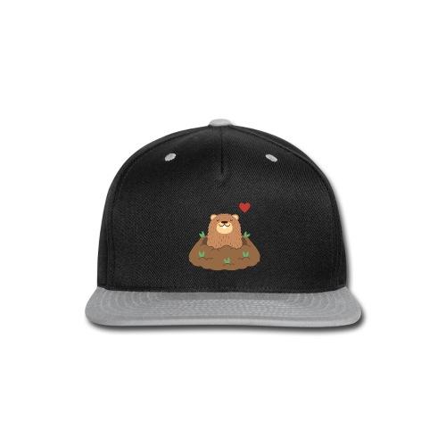Groundhog Love - Snap-back Baseball Cap