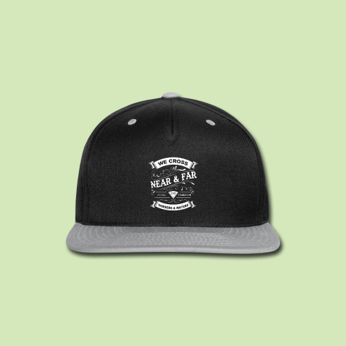 Vintage Near and Far - Snap-back Baseball Cap