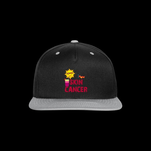 SKIN CANCER AWARENESS - Snap-back Baseball Cap