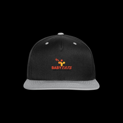 BABY TATS - TATTOOS FOR INFANTS! - Snap-back Baseball Cap