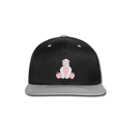 Ballerina Rhino - Snap-back Baseball Cap