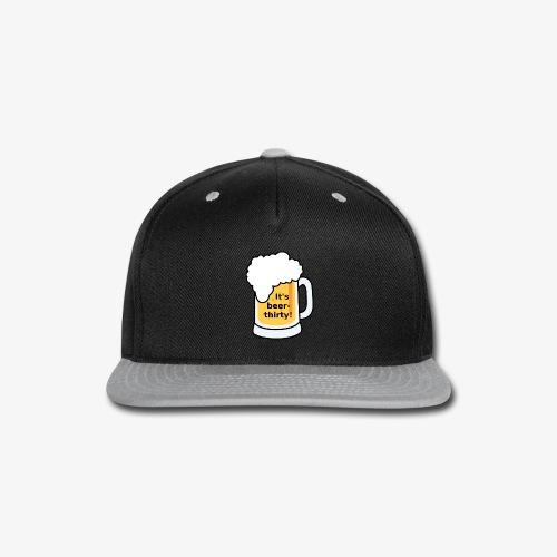 Beer Thirty - Snap-back Baseball Cap
