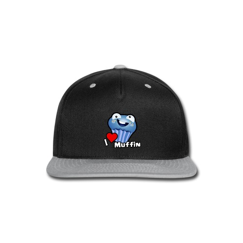 I Love Muffin - Snap-back Baseball Cap