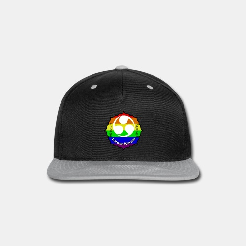 Larose Karate Rainbow Logo - Snap-back Baseball Cap