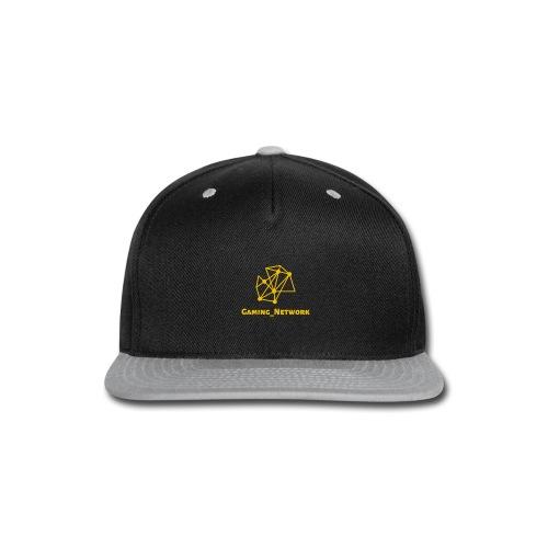 gaming network gold - Snap-back Baseball Cap
