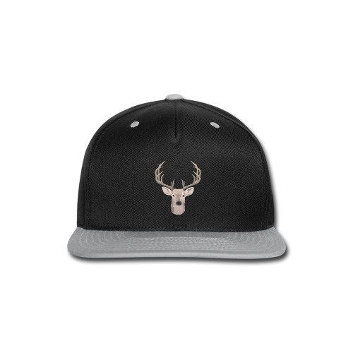 Beautiful buck with big antlers - Snap-back Baseball Cap