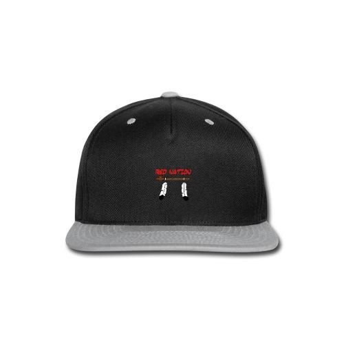 Rednation3 - Snap-back Baseball Cap