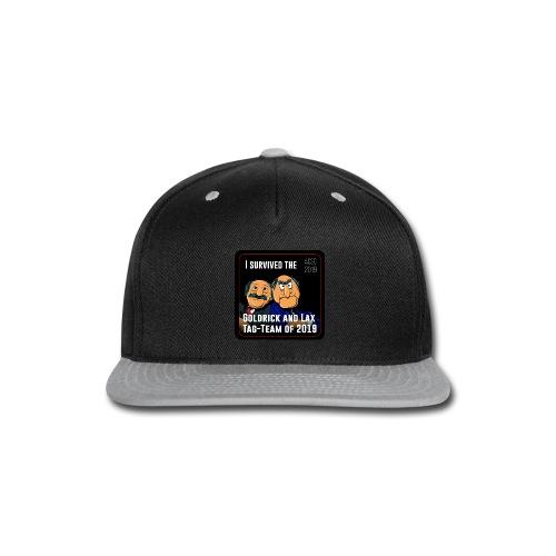 Goldrick and Lax Tag Team - Snap-back Baseball Cap