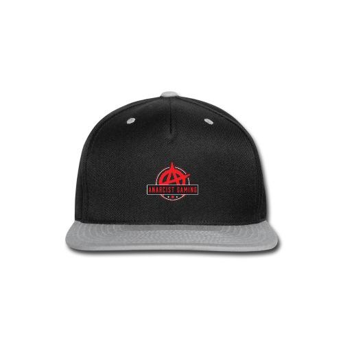 anarcist Gaming Logo - Snap-back Baseball Cap