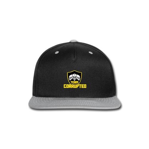 Team Corrupted Logo - Snap-back Baseball Cap