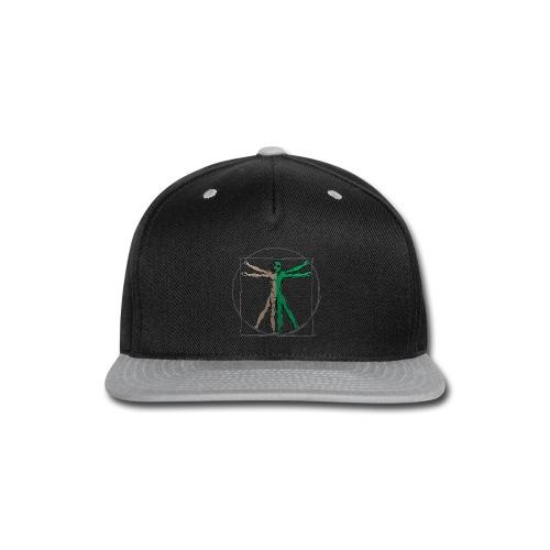 Da Vinci Alien Man - Snap-back Baseball Cap