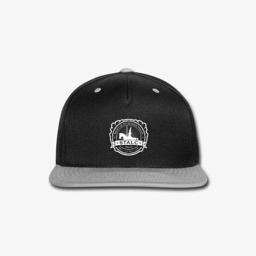 STALC Logo White only - Snap-back Baseball Cap