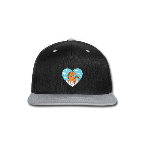 Unicorn Love - Snap-back Baseball Cap