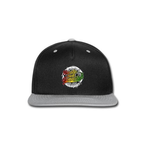 Rasta nuh Gangsta - Snap-back Baseball Cap