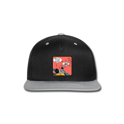 Two Part Question - Snap-back Baseball Cap