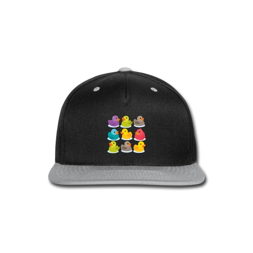 More rubber ducks to the people! - Snap-back Baseball Cap