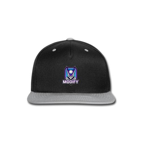 Modify Text Logo - Snap-back Baseball Cap