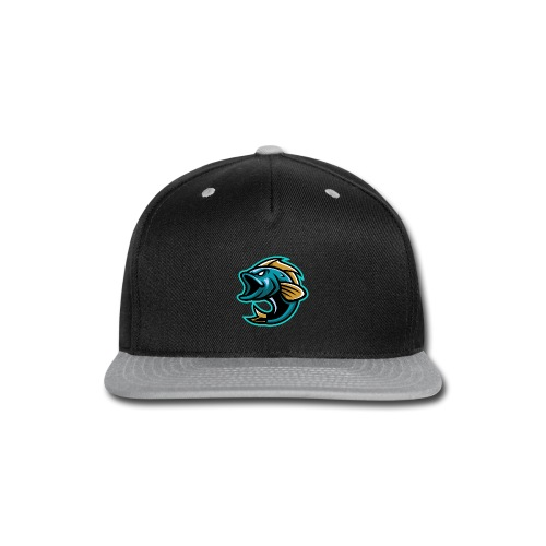PogFish Logo Only - Snap-back Baseball Cap