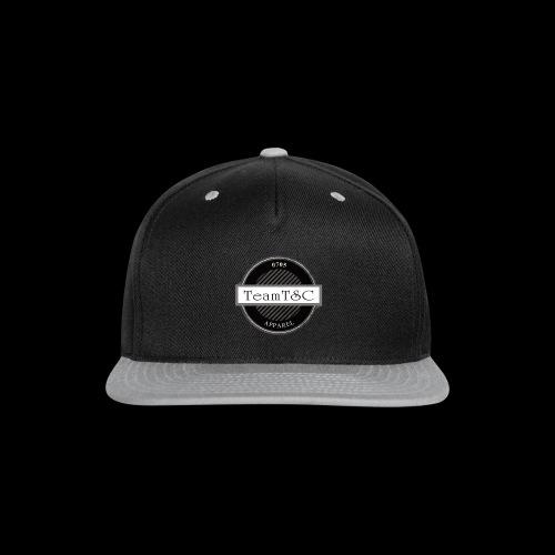 TeamTSC Badge - Snap-back Baseball Cap