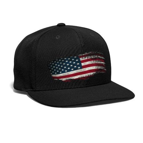 Faded Freedom - Snap-back Baseball Cap