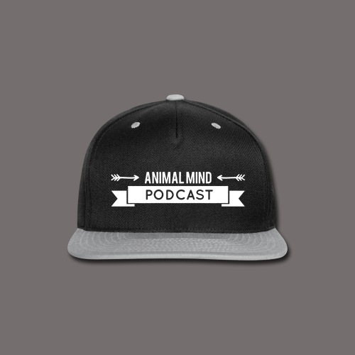 Animal Mind Podcast - Arrow Banner - Snap-back Baseball Cap