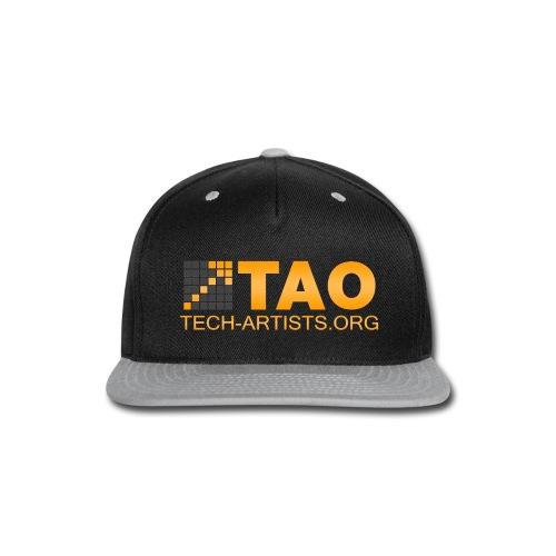 TAO_Panarama_White - Snap-back Baseball Cap