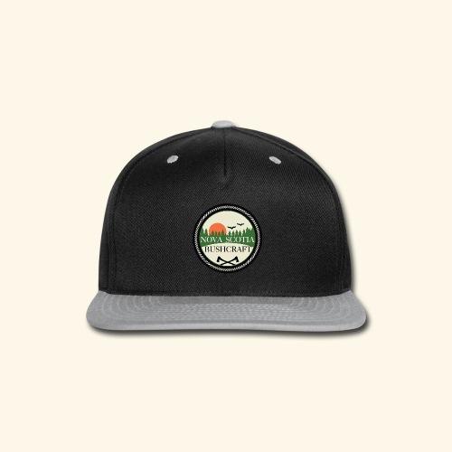 Nova Scotia Bushcraft3 - Snap-back Baseball Cap