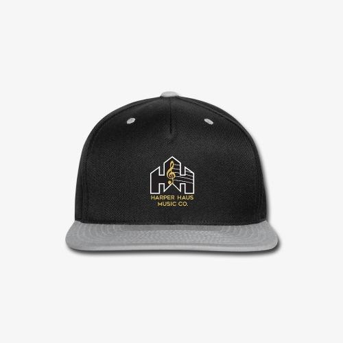 Harper Haus Music Company Full Color Logo - Snap-back Baseball Cap