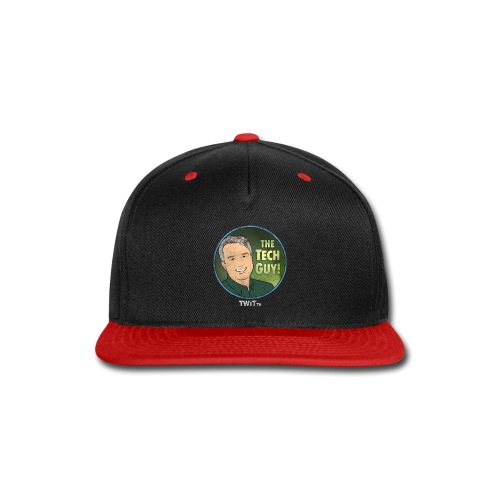The Tech Guy Album Art Distressed - Snap-back Baseball Cap