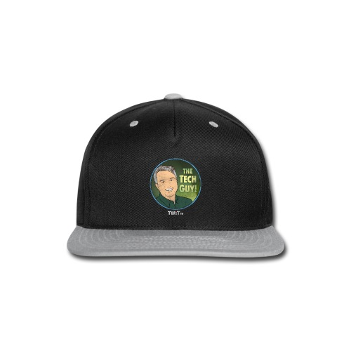 The Tech Guy Album Art Distressed - Snap-back Baseball Cap