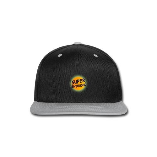 Super Enthused Sun - Snap-back Baseball Cap