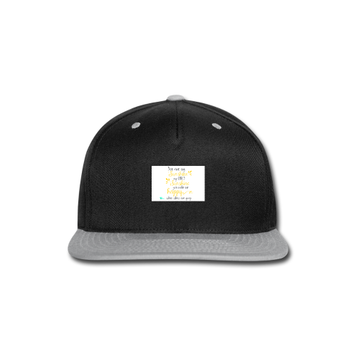 You are my sunshine - Snap-back Baseball Cap