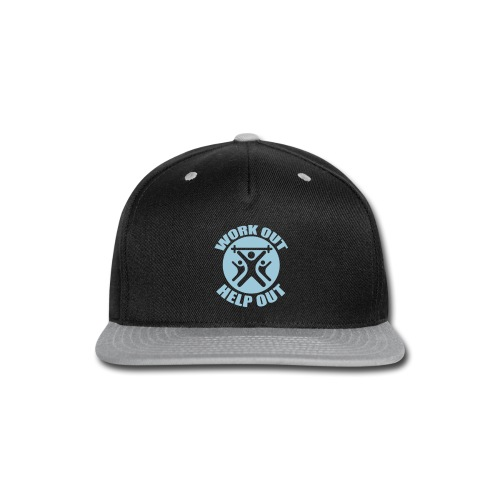 Work Out Help Out- Hat - Snap-back Baseball Cap