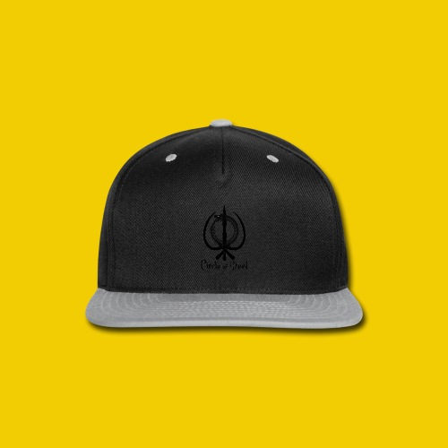 circle_of_steel_logo21 - Snap-back Baseball Cap